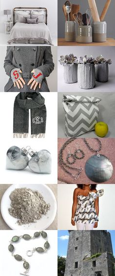 GRAYtful for another holiday season! by Lisa Lavender on Etsy--Pinned with TreasuryPin.com