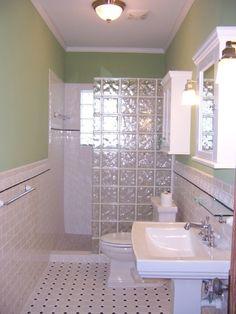Reno ideas on pinterest painting wood paneling painting for Bathroom ideas 1940