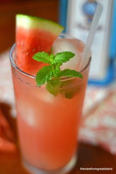The View from Great Island | It's 5 O'Clock Somewhere Friday: The Watermelon Gin Rickey