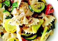 10 Light Summer Pasta Recipes