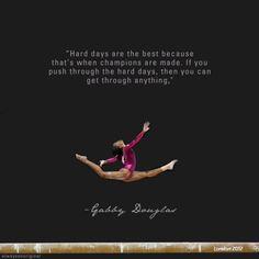 champion, fit, gymnastics quotes, gabby douglas, gabbi dougla