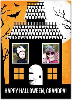 Halloween Haunts - Halloween Cards from Treat.com #trickorTREAT