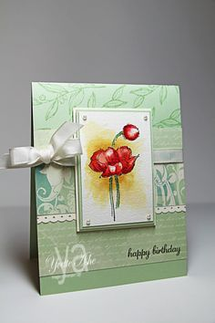 Simply Sketched Birthday Card