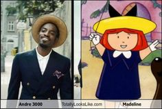 Andre 3000 Totally Looks Like Madeline