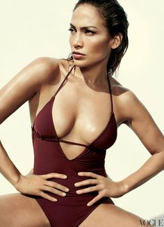 Lopez Models Summers Scorching Swimsuits in Vogue
