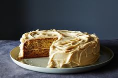Banana Cake with Penuche Frosting, a recipe on Food52