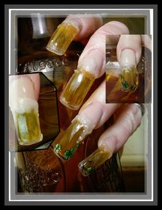 Beer! by Ivystar from Nail Art Gallery