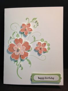 My Creative Corner!: Flowering Flourishes Morning Meadow and Petite Petals