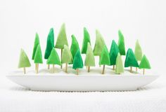 Make A Yummy Forest of Festive Fudge Trees