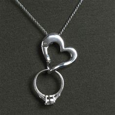Keep Safe Ring Holder Necklace