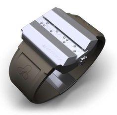 Braille Watch--this is so cool  Please follow us @ http://www.pinterest.com/jeniferkane01/
