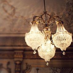 chandeliers. we'll need someinteresting vintage lighting