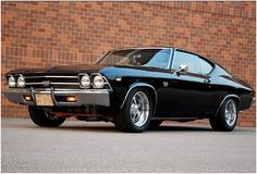 Hot Rods 1969 Chevy Chevelle SS