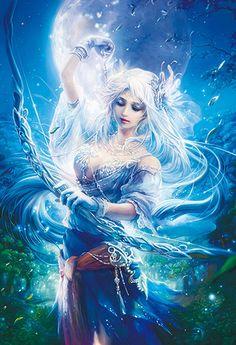 Fantasy Art Product | Fukami Kazuha Fantasy Art - Goddess of the Moon 1000 Micro Piece ...