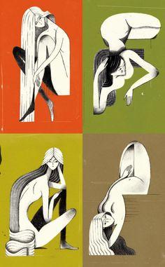 Pin-Up Inspired Illustrations / Julianna Brion