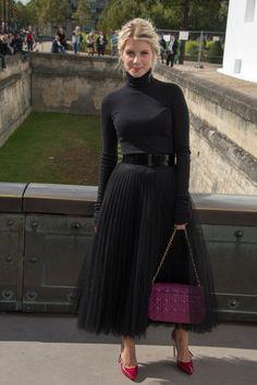 Dior Spring Summer 2013 Ready-to-Wear show: Mélanie Laurent. #PFW
