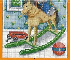 bear on rocking horse2