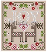 The Floss Box | Christmas Joy Ornament