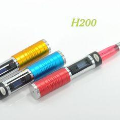 H200 Vape Mod E Cig New arrival Mod Vaporizer LED Display High capacity Variable Voltage 3v-6v Ecig H200 Mod