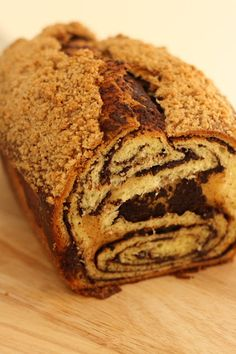Chocolate Babka, just in time for Easter.  It makes killer French Toast too :)