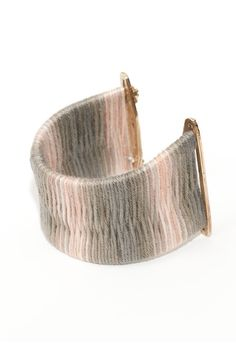 ERIN CONSIDINE, IMMRAMA SS11 MACH CUFF: such a cool closure. and of course the colors... #erin_considine #jewelry #bracelet $252