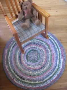 Turn old clothes and bed sheets into crochet rag rugs. So Crafty lensmaster JaneAnn1117 shares tips for creating beautiful homemade rugs here: http://www.squidoo.com/crochet-rag-rugs.