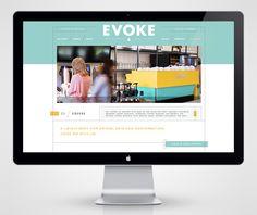 web design / cafe evoke
