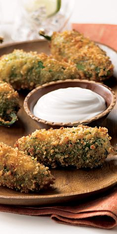 Spicy Jalepeno Poppers Recipe from our friends at Daisy Sour Cream