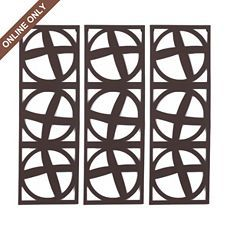 Metal Geometric Panel Plaque, Set of 3 at Kirkland's