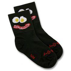 I love funny socks!