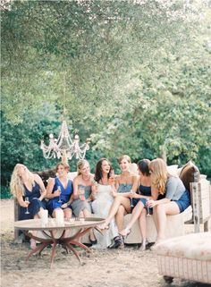 bridesmaids shot