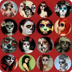 skull, halloween costumes, día de, halloween makeup, matin lapin, los muerto, de los, muerto halloween, halloween ideas