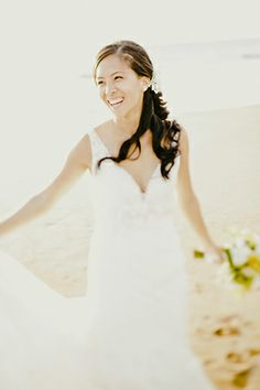 """Happily in Love Bride! // Photo By"""" http://mananetwork.net"""