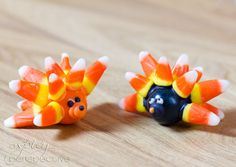 Gum Ball Hedgehog Craft