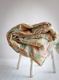 Vintage Baby Blanket