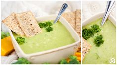 Low cal broccoli cheese soup