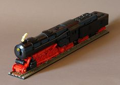 2-8-4 Steam Locomotive - 3/4 Front (by Sydag)