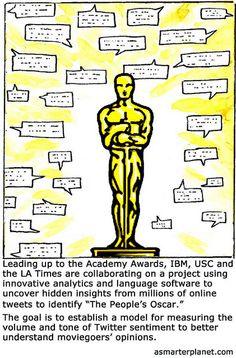 The Oscar Sentimeter