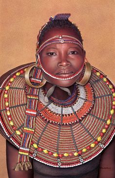 African face  3