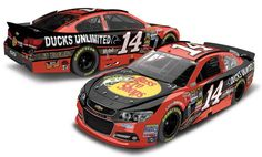 2013 TONY STEWART #14 DUCKS UNLIMITED 1/24 ACTION DIECAST