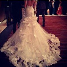 wedding dressses, the dress, train