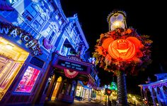 Mickey's Not So Scary Halloween Party lights up the night at @Colleen Egan Disney World's Magic Kingdom
