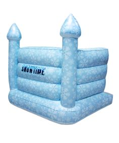 Inflatable Snow Castle - great protection for a snowball fight