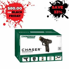 Kingman Chaser Paintball Gun. Available Online and In Stores.