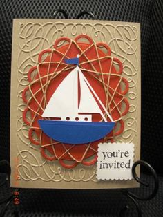 #spirelli by AhDuckyInk at Splitcoaststampers with nestabilities  visit me at My Personal blog: http://stampingwithbibiana.blogspot.com/