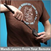 It's a wand TV remote. SO COOL!