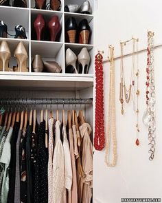*Lovely Clusters - The Pretty Blog: Guest Post - Beautiful Closets