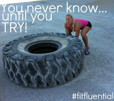 SO just try! you never know...#fitfluential @Blonde Ponytail