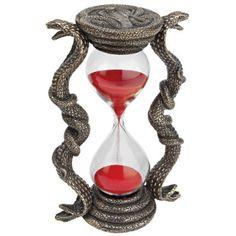 Egyptian cobra hourglass