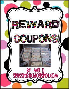 KindergartenWorks: introducing Mel D. and Reward Coupons {giveaway item}